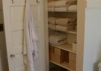 Linen Closet Organizers For Bathrooms