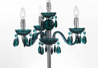 Mini Chandelier Table Lamp