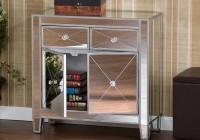 Mirrored Console Table With Storage