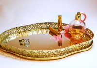 Mirrored Vanity Tray Target