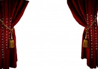 Movie Theater Curtains Clipart