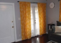 Mustard Yellow Curtain Panels