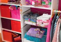 nursery closet organization systems