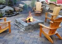 Outdoor Deck Fire Pit