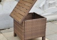 Outdoor Side Tables With Storage