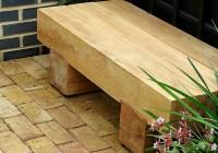Outdoor Wooden Bench Seat