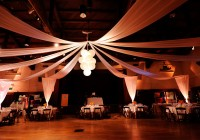 Paper Lantern Chandelier Wedding