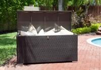 patio furniture cushion storage