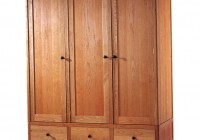 portable wood wardrobe closet