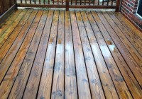 Power Wash Deck Before And After