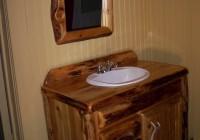 Reclaimed Wood Mirror Bathroom
