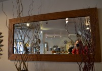 Reclaimed Wood Mirror Large