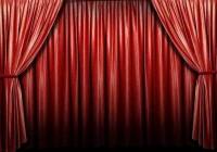 Red Velvet Movie Theater Curtains