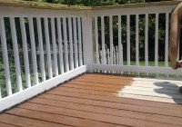 Restoring A Decks Rails