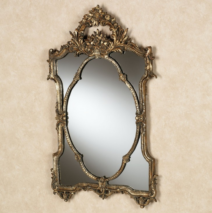 Permalink to Rose Gold Wall Mirror