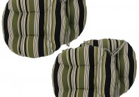 Round Bar Stool Cushions With Ties