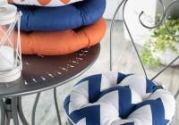 Round Bistro Chair Cushions Outdoor