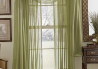 Sheer Curtain Panels With Designs