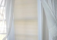 Sheer Curtains Inside Window Frame