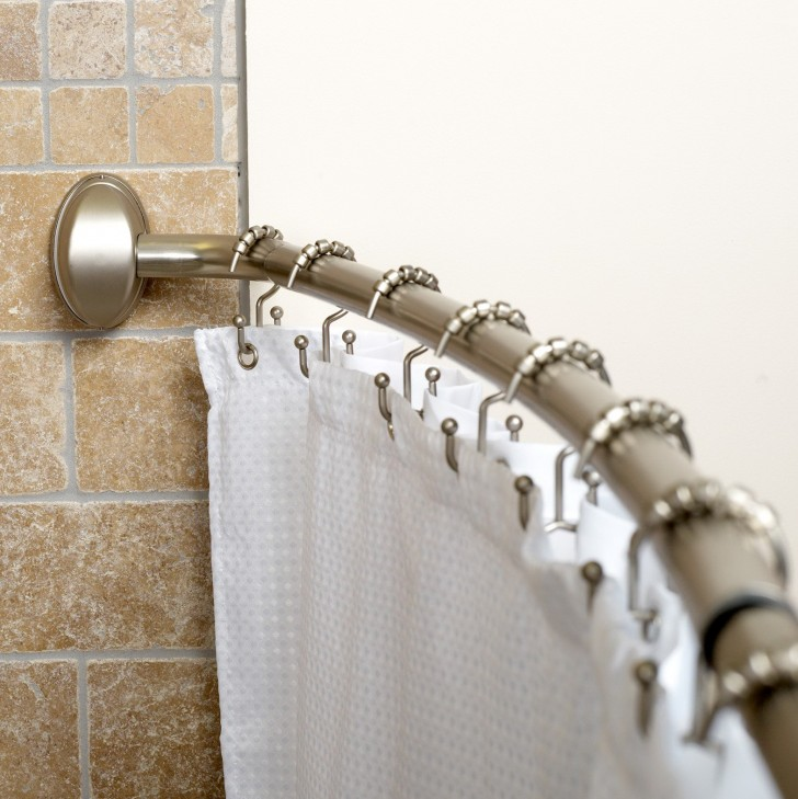 Permalink to Shower Curtains Rods Curved