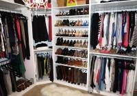 simple walk in closet organizers