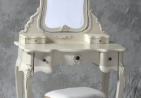 Small Mirrored Vanity Table