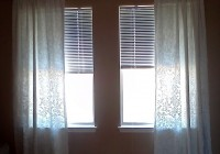 standard curtain lengths inches