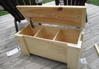 Storage Chest Bench Plans