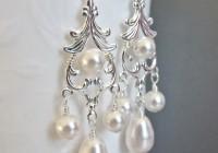 Swarovski Chandelier Earrings Wedding