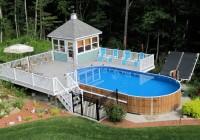 Swimming Pool Decks Above Ground Designs