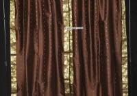 Tie Top Sheer Curtain Panels