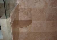 Tile Shower Bench Seat