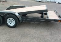 Tilt Deck Car Trailer