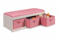 Toy Storage Bench With Cushion