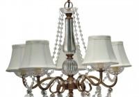 vintage glass chandelier shades