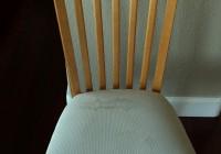 vinyl kitchen chair cushions