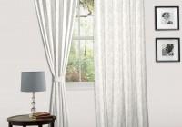 White Cotton Eyelet Curtains