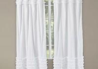 White Ruffle Curtains Uk