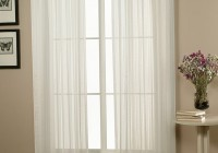 White Sheer Curtains 84