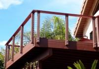 Wood Deck Railing Design