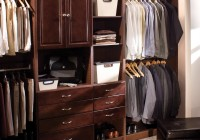 wood walk in closet systems
