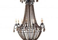 Wooden Bead Chandelier Lighting