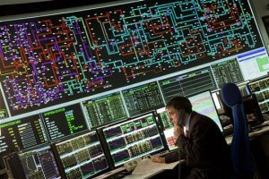 Nat Grid control centre