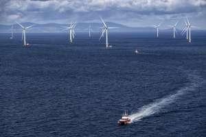 Ørsted's Walney offshore wind farm
