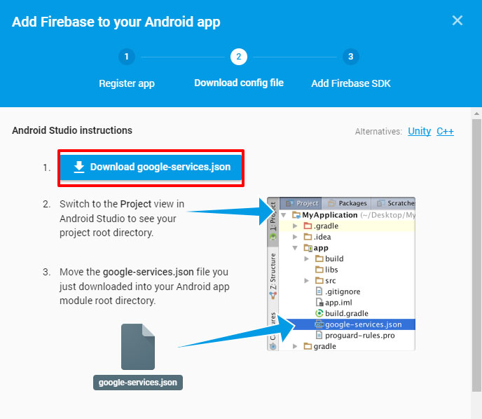 How to connect an Android App to Firebase (Firebase Tutorial #1