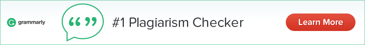 Plagiarism Check by Grammarly