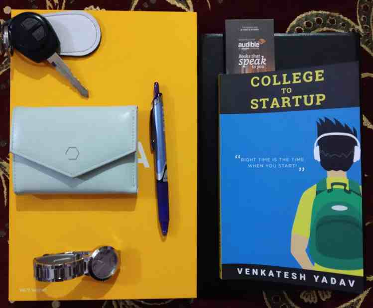 Book Review: College to Startup by Venkatesh Yadav