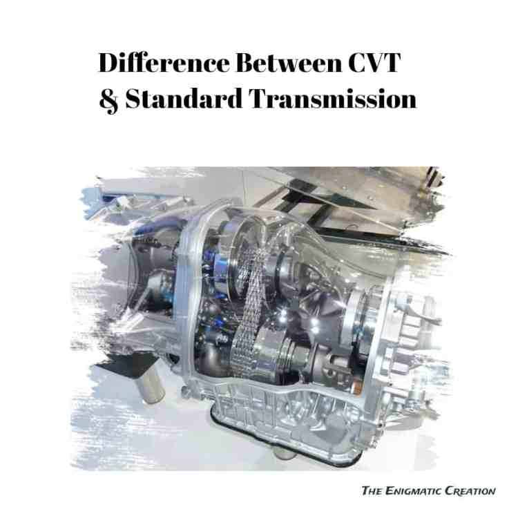 What is CVT? Difference between CVT and Standard transmission?