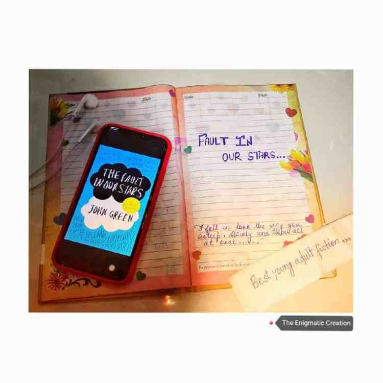The Fault In Our Stars by John Green: A Book Review