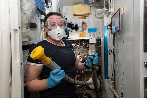 New Toilets To Be Installed In International Space Station